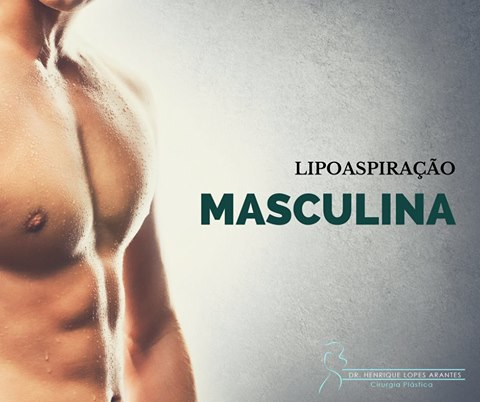 Lipoaspiracao masculina